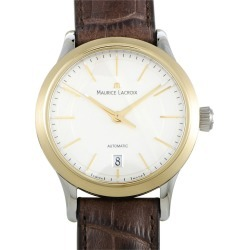 Maurice Lacroix Men's Leather Watch found on MODAPINS from Gilt City for USD $879.99