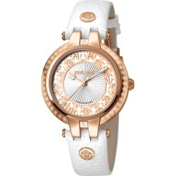 Roberto Cavalli by Franck Muller Women's Leather Watch