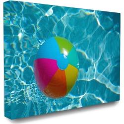 Stupell Home Decor Beach Ball Pool Time