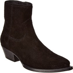 Saint Laurent Lukas Suede Bootie found on Bargain Bro India from Gilt City for $499.99
