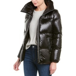Cole Haan Signature A-Line Quilted Coat