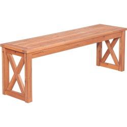 Hewson Acacia Wood Outdoor Patio Dining Bench