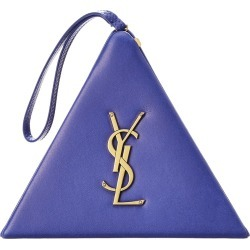 Saint Laurent Pyramid Box Leather Clutch found on Bargain Bro India from Gilt City for $1279.99