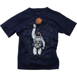 Wes Willy Basketball Astronaut T-Shirt