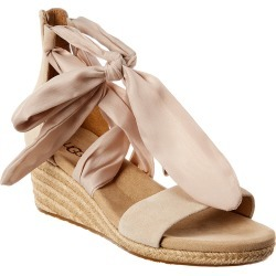 UGG Women's Trina Suede Wedge Sandal found on Bargain Bro India from Gilt City for $79.99