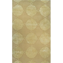 The Rug Market Marceline Hand-Made Wool & Silk Contemporary Rug found on Bargain Bro India from Gilt for $269.99