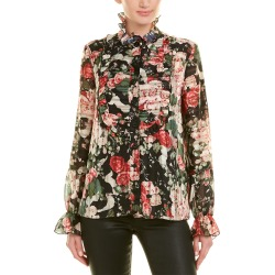 Anna Sui Rose Garland Top found on MODAPINS from Ruelala for USD $149.99