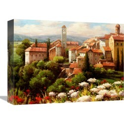 Global Gallery Village Bell Tower by Lazzara found on Bargain Bro India from Gilt for $69.99
