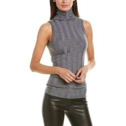 Derek Lam Elle Ribbed Cashmere & Silk-Blend Tank found on MODAPINS from Gilt City for USD $199.99