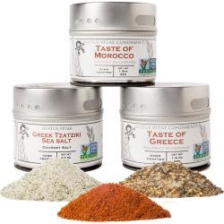 Gustus Vitae Set of Three Taste of the Mediterranean Tins