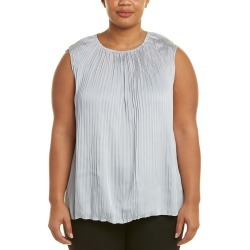 Lafayette 148 New York Plus Janetta Silk-Blend Blouse found on Bargain Bro India from Ruelala for $89.99