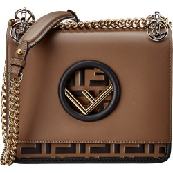 FENDI Kan I F Small Leather Shoulder Bag found on Bargain Bro India from Gilt for $2069.99