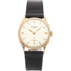 Patek Philippe Men's Leather Watch found on MODAPINS from Ruelala for USD $10439.00