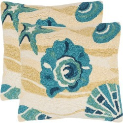 Safavieh Beyond The Sea Pillow found on Bargain Bro India from Gilt for $69.99