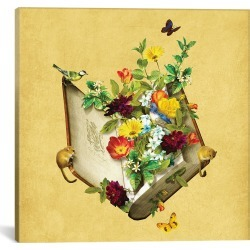 iCanvas Secret Garden by Diogo Verissimo found on Bargain Bro Philippines from Ruelala for $59.99