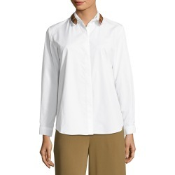 Maison Pere Fringe Trimmed Blouse found on Bargain Bro Philippines from Gilt City for $49.99