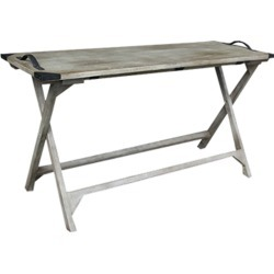 East at Main's Margot Mindi Wood Console found on Bargain Bro India from Gilt for $479.99