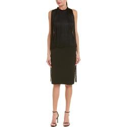 Stella McCartney Fringe Silk-Lined Midi Dress found on MODAPINS from Gilt for USD $699.99