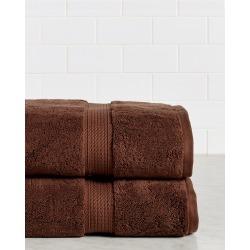 Superior Set of 2 Superior Premium Combed Cotton Bath Towels