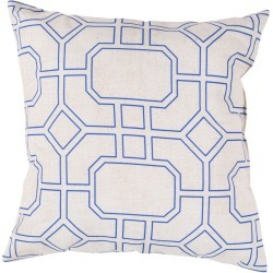 Surya Rain Indoor/Outdoor Decorative Pillow found on Bargain Bro India from Gilt for $39.99