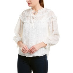 Rebecca Taylor Striped Silk Top found on Bargain Bro India from Gilt for $109.99