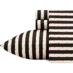 Betsey Johnson Wonderland Stripe Sheet Set found on Bargain Bro Philippines from Gilt City for $24.99
