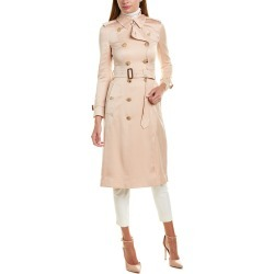 Burberry Satin Trench Coat found on Bargain Bro India from Gilt City for $1439.99