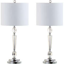 Set of 2 Victoria 27in Crystal LED Table Lamp found on Bargain Bro from Gilt City for USD $151.99