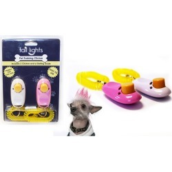 Tail Lights Two Pack Pet Training Clickers & Comprehensive Training Guide 1