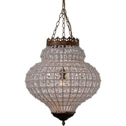 Zentique Crown Pendant Chandelier found on Bargain Bro India from Gilt City for $929.99