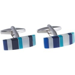 Bey-Berk Rhodium Plated Cufflinks found on MODAPINS from Gilt for USD $29.99