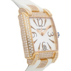 Ulysse Nardin Women's Leather Diamond Watch found on MODAPINS from Gilt for USD $26490.00