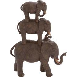 Elephant Stack Decor