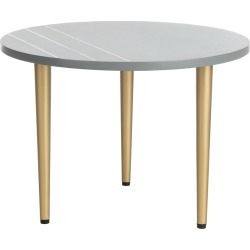 Safavieh Tezza Round Concrete Coffee Table found on Bargain Bro from Ruelala for USD $113.99