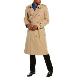 Burberry The Long Chelsea Trench Coat found on Bargain Bro from Ruelala for USD $1,208.39