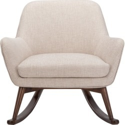 Safavieh Couture Mack Mid Century Rocking Chair found on Bargain Bro India from Gilt for $655.99
