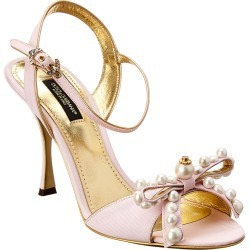 Dolce & Gabbana Kiera Embellished Sandal found on Bargain Bro India from Gilt City for $809.99
