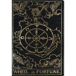Oliver Gal Wheel of Fortune Canvas Art