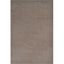 The Rug Market Art Brush Hand-Made Polyester Contemporary Rug