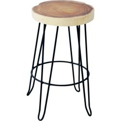 East at Main Organic Counterstool with Iron Legs found on Bargain Bro India from Gilt for $269.99