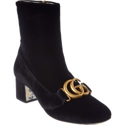 Gucci GG Velvet Ankle Boot found on Bargain Bro India from Gilt City for $889.99
