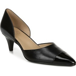 Naturalizer Barb Leather Pump found on Bargain Bro India from Gilt for $29.99