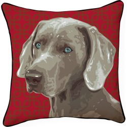 Naked Decor 18in Pooch Decor: Weimaraner Pillow found on Bargain Bro India from Gilt for $35.99