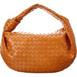 Bottega Veneta BV Jodie Medium Intrecciato Leather Hobo Bag