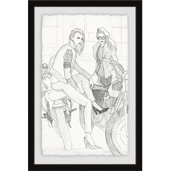 Bike & Heels by Parvez Taj