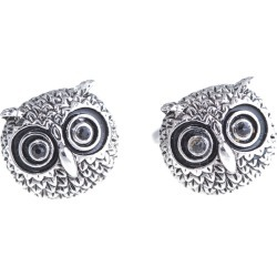 Bey-Berk Rhodium Plated Cufflinks found on MODAPINS from Gilt for USD $19.99