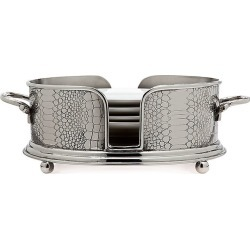 Godinger 12.5in Croco Salad Plate Holder