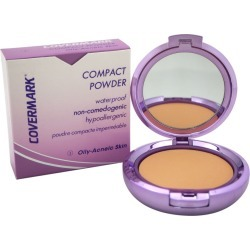 Covermark 0.35oz #3 Waterproof Compact Powder for Oily-Acneic Skin