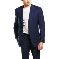 Canali 2pc Wool Suit with Flat Front Pant found on MODAPINS from Ruelala for USD $899.00