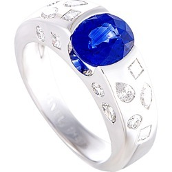 Chanel 18K 2.75 ct. tw. Diamond & Sapphire Ring found on Bargain Bro Philippines from Ruelala for $9500.00